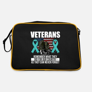 Vietnam Remember what they did for our country 22 Vetera - Retrotasche