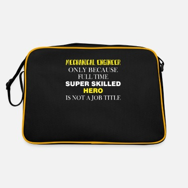 Mechanical Engineering Mechanical Engineer - Mechanical Engineer only - Retro Bag