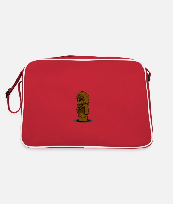 Chewbacca Bags & Backpacks - chewbacca since fiction - Retro Bag red/white