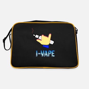 Vape Vape Vaping Steam Steaming Steam Steamer Gift - Retro Bag