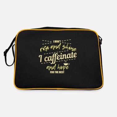 Caffeine caffeine - Retro Bag