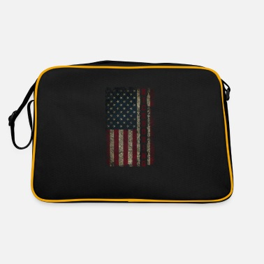 Made In Usa A cool martial arts design, with the word KICKBO - Retro Bag