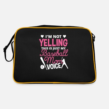 This is just my Baseball Mom voice Sport Geschenk - Sac vintage