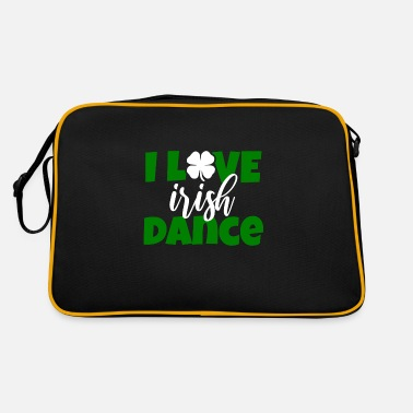 Irish Dancing I LOVE Irish Dancing Dancing Ireland Irish dance - Borsa retrò