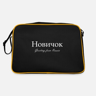Opposition Nowitschok Novichok Greetings from Russia Gift - Retrotasche