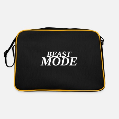Beast Mode beast mode - Retro Bag