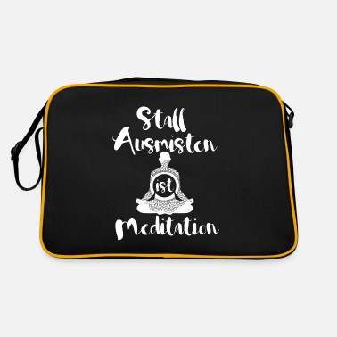 Pony Stall Muck Stall is meditation horses stall yoga - Retro Bag