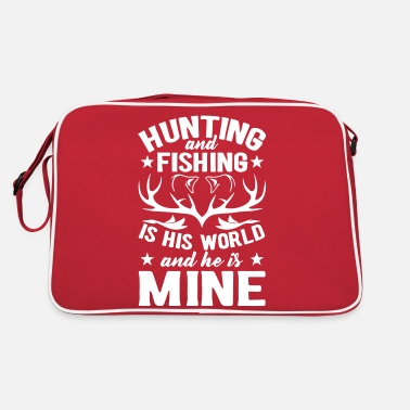Malle Hunting and fishing Bear and beer - Retro Bag