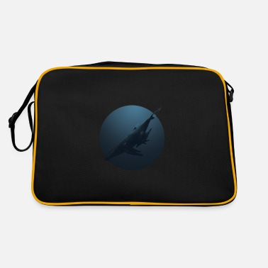 Blue Whale Blue whales - Retro Bag