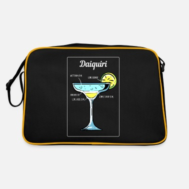 Plage Daiquiri Cocktail Bar Drinks Bartender Barmaid - Sac vintage