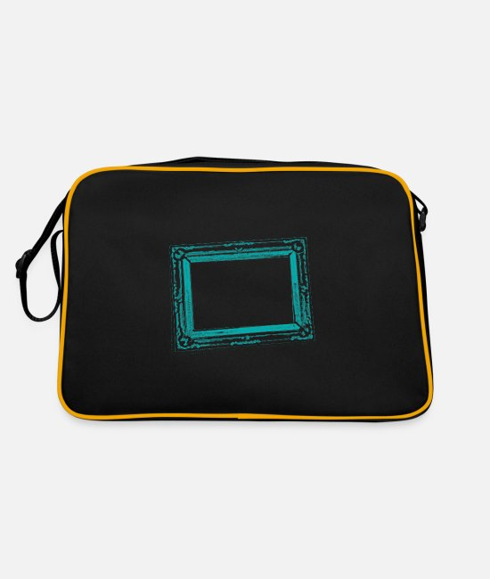 Art Bags & Backpacks - frame - Retro Bag black/gold