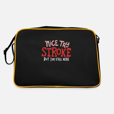 Nice Try Stroke STROKE SURVIVOR: Nice Try Stroke - Retro Bag