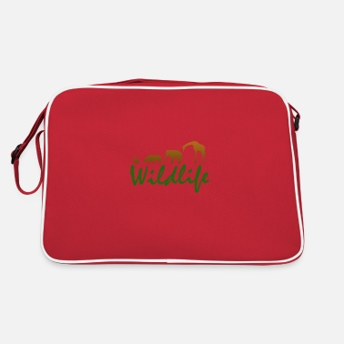 Wild Animal Wild animals - wild animals - Retro Bag