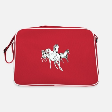 Cheval Sauvage Chevaux - Sac vintage