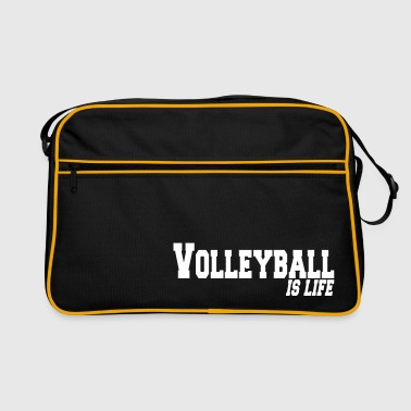 volleyball is life - Retro-tas