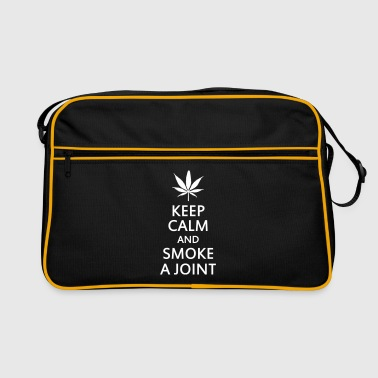 keep calm and smoke a joint - Torba retro