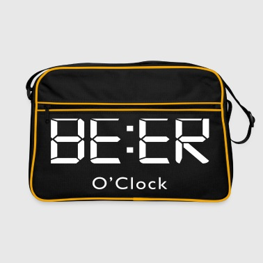 Beer o clock de l'alcool - Sac Retro