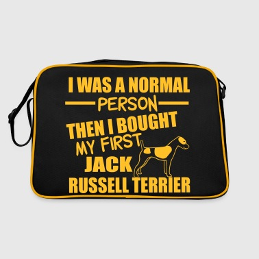 Normal Person -Jack RussellTerrier - Retro Bag