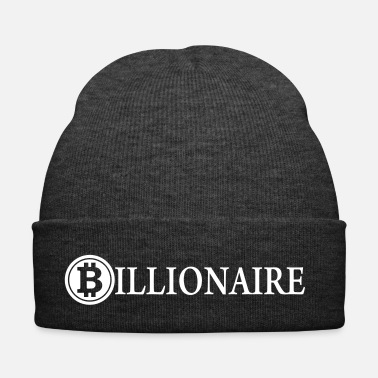 Riche Milliardaire / Bitcoin Milliardaire / Cryptomonnaie - Bonnet d'hiver