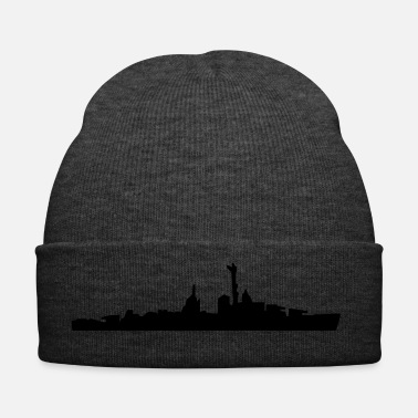 Navy Vector Navy warship Silhouette - Bonnet d'hiver