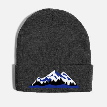 Landscape Mountain, Winter Landscape (super cheap) - Cappello invernale