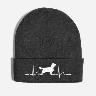 Springer Spaniel ENGLISH SPRINGER SPANIEL heartbeat heartbeat - Winter Hat