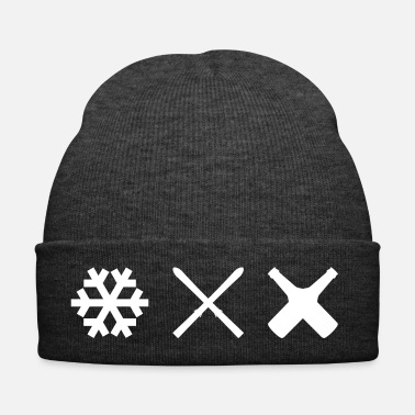 Ski Resort Apres ski snow ski beer skiing slopes - Winter Hat