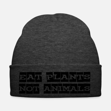 Animal Liberation eat plants not animals - Wintermütze