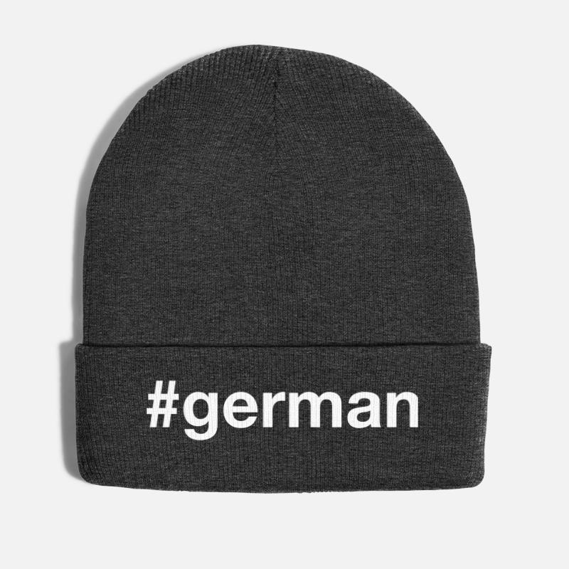 Bavaria Caps & Hats - GERMANY - Winter Hat asphalt