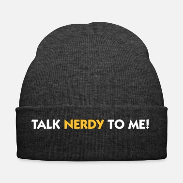 Naughty Talk Nerdy To Me! - Winter Hat