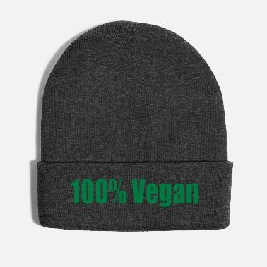 100% Vegan Baby Gift Birthday Statement - Winter Hat