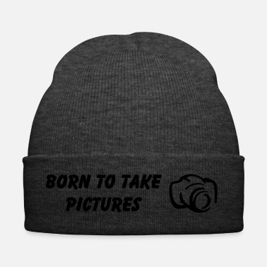 Picture Born to take pictures - Winter Hat
