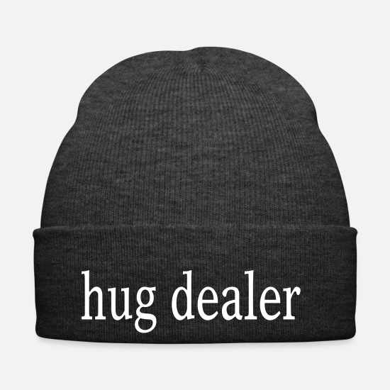 Day Caps & Hats - Hug dealer - hugs - Winter Hat asphalt