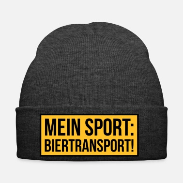 Sport MEIN SPORT: BIERTRANSPORT! - Wintermütze