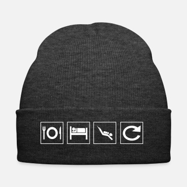 Scuba Eat sleep dive repeat / diver, dive - Winter Hat