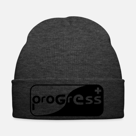 Progress Caps & Hats - progress - Winter Hat asphalt