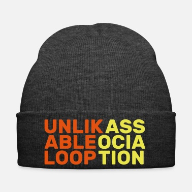 Association unlikable loop association anglais cadeau slogan - Bonnet d'hiver