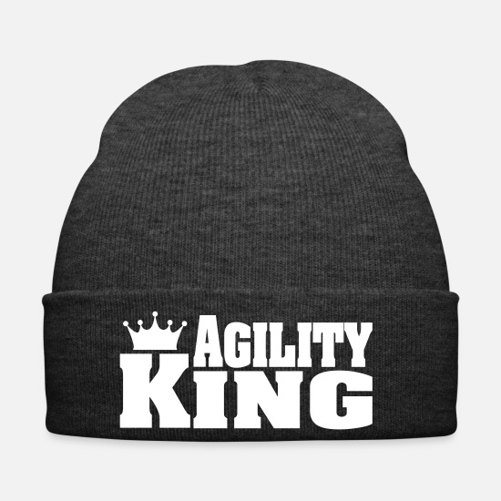 Aussie Caps & Hats - AGILITY KING - Winter Hat asphalt