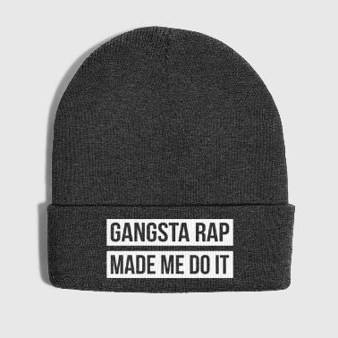 Gangsta Rap Made Me Do It - Winter Hat