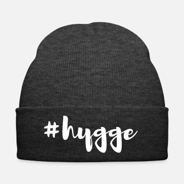 Trend Hygge Feel Good Quote Hashtag Living - Bonnet d'hiver
