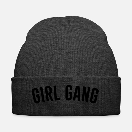 Women Caps & Hats - Girl Gang - Winter Hat asphalt