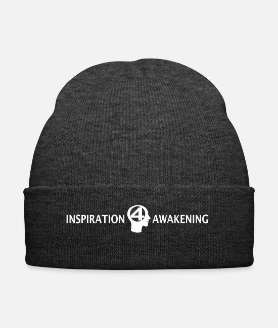 Inspiration Caps & Hats - Inspiration4awakening - Winter Hat asphalt