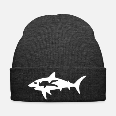Scuba shark diver - Winter Hat