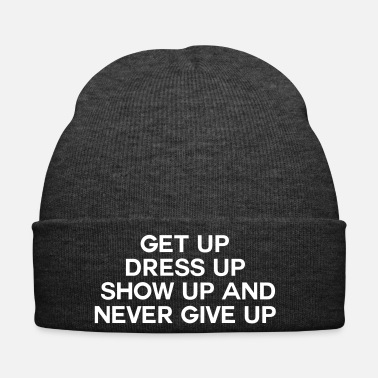 Up Never Give up - Cappellino invernale