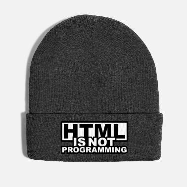 Html HTML is NOT Programming - Winter Hat