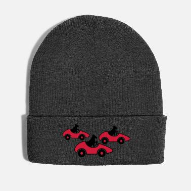 Drive Go By Car race race car driving license fast - Winter Hat