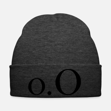 Surprise Confused text Emoji - Winter Hat