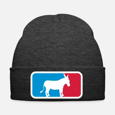 Poney sport logo cool âne cheval poney petit packesel lan - Bonnet d'hiver