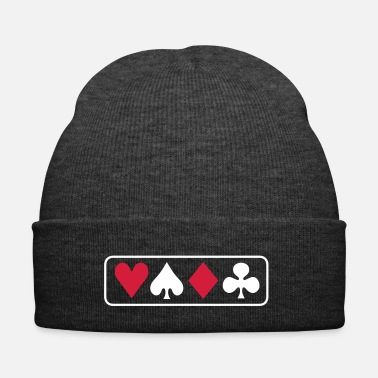Casino poker horizontal pokergame - Bonnet d'hiver