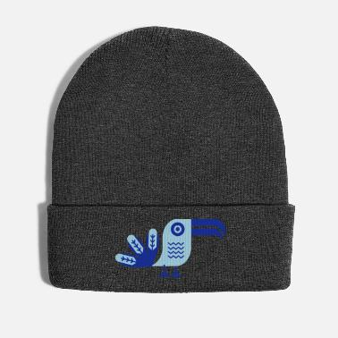 Birdie Toucan, bird, birdy, jungle, rainforest, nature - Winter Hat